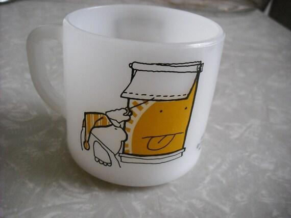 Vintage Mug Ziggy Fire King Coffee