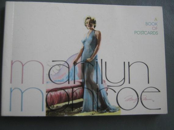 Vintage Postcard Book Marilyn Monroe