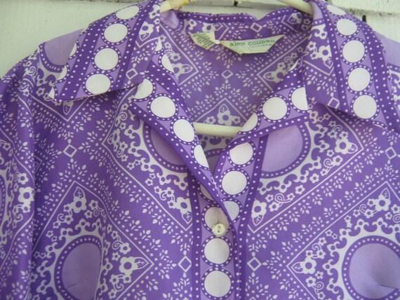 Vintage Blouse Shirt Mod Alex Coleman