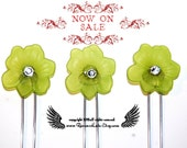 Now On Sale, Persephone's Rebirth of Spring Amish Hair Pins, Hair Forks