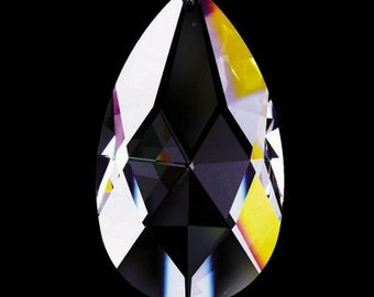 10 - 76mm Asfour Full Lead Crystal Chandelier Crystals Prisms Teardrop Shape - Style VAS72  (S-4)
