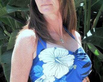 Made to Order: Tiare Retro style Polynesian Bombshell Dress