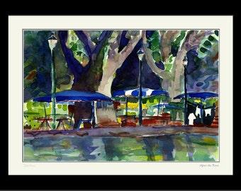 AFTER THE RAIN - Original Watercolor