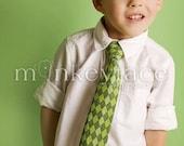 Splendid Spring Green Argyle Necktie