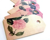 30 Fancy, high quality, vintage design, romantic, SHABBY CHIC,  recycled favor tags, shipping tags