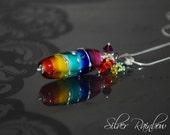Silver Rainbow Pendant