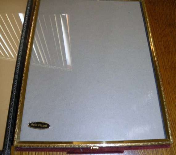 One Gold Plated SCHARLING Silversmith Frame