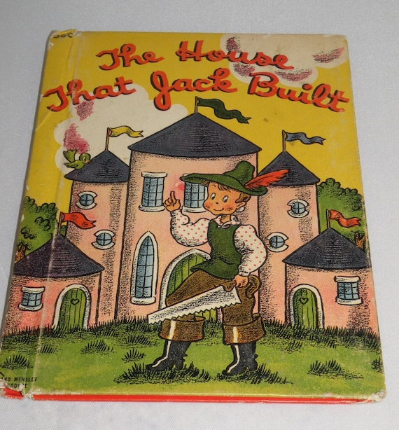 The House that Jack Built 1942 Childrens book