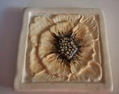 Poppy Trivet or Wall Plaque