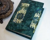 Paperback Book Cover Sunflower Batiks in Large Trade Size