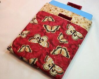 Oriental Butterflies iPad and iPad 2 Sleeve - Padded Sleeve, Table Cover, Padded Tablet Sleeve
