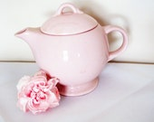 Pretty Pink Mod Teapot for One