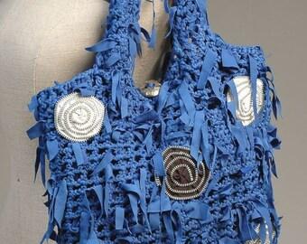 Blue Beautiful Bag