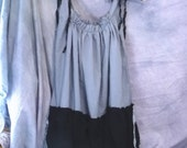 Grey Gatsby Dress Custom Made Juniors Teens Womens Gothic Boho