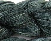 Three Hares hand dyed sock yarn fingering weight, 8ply superwash merino, 100g - Dabbling Teal 1