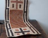 vintage raffia mat
