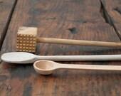 vintage wooden utensils
