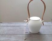 vintage ceramic teapot