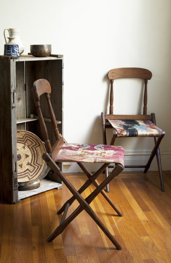 zola collection. vintage spectator chairs