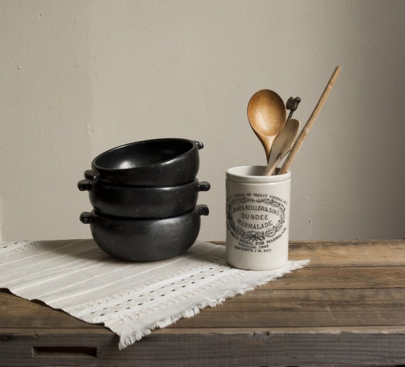 farmhouse basics. antique dundee marmalade pot