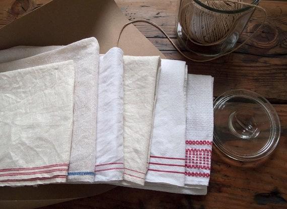 farmhouse basics. vintage dish towel