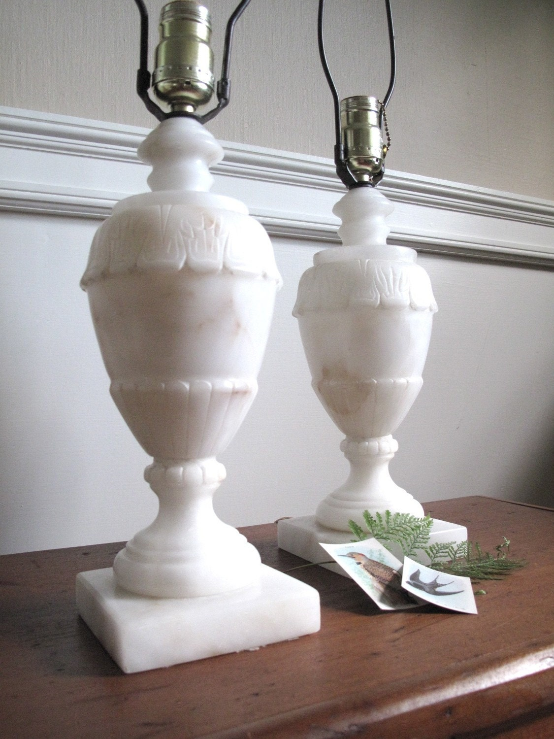 Reserved Dalloway Collection Vintage Alabaster Lamp