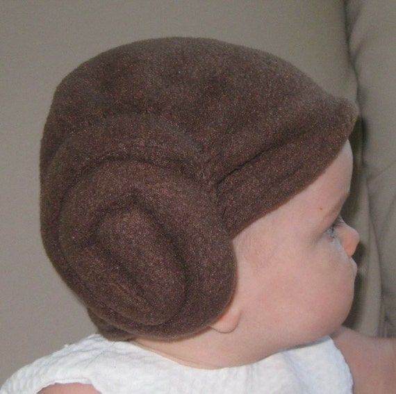 Princess Leia Baby Hairdo Hat