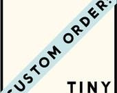 Beth's Custom Order