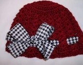 Boutique Alabama Beanie sizes from newborn to adult great for that Alabama Fan look