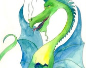 Note Cards Dragon Gift Set