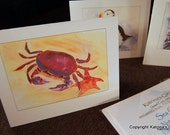 Sea Creatures Note Card Gift Package
