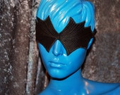 Blinded Raven Black Leather Blindfold