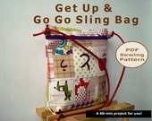 INSTANT DOWNLOAD A 60-min Get Up & Go Go Sling Bag - PDF Sewing Pattern And Tutorial