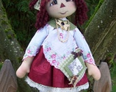 Annie Lucy May Doll INSTANT DOWNLOAD Pattern 245 ET