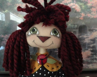 Annie Sally Bee doll INSTANT DOWNLOAD pattern  216  ET