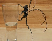 Hanging Dragon Wire Figure