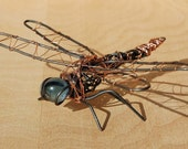 Dragonfly Wire Figure Paper Weight
