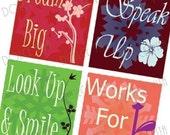 Winter Wonderland - Scrabble Size Pendant Images - Digital Collage Sheet