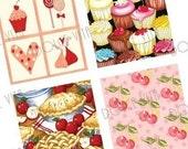 Home Sweet Comfort - Scrabble Size Pendant Images - Scrapbooking