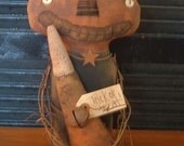 eXtreMe PriMitiVe StuMpy PuMpkiNhead DoLL/CaNdy CorN Instant Download