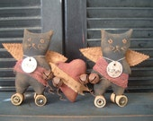 PriMitiVe ValeNtiNe Kitties epatterN Instant Download