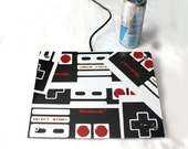 Giant Drink Coaster Table or Wall Art. Nintendo Controller Mix Photograph