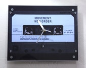 Modern Clock : New Order Movement Retro Cassette Clock
