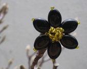 SALE  Black Daisy