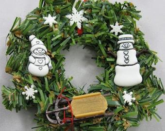 Snowman Christmas Ornament - Let It Snow 108