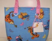 Winnie the Pooh Tote or Gift Bag