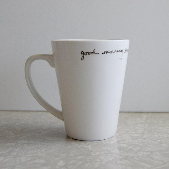 Good morning starshine mug