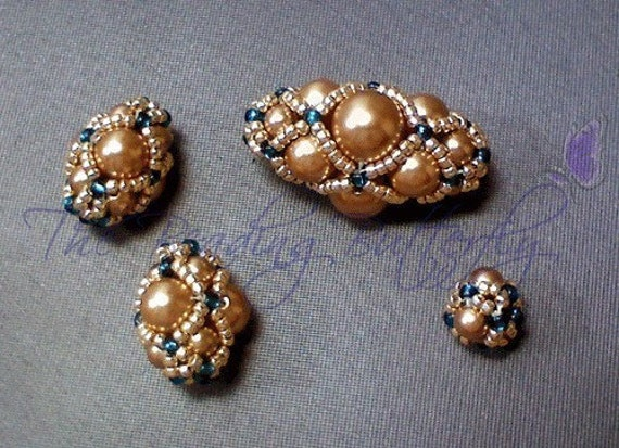 Netted Beads Tutorial - Digital Download