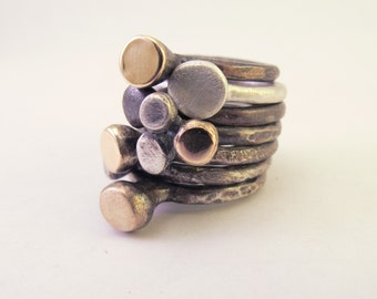 Blump Rings... How Else to Describe - Listing is for 1 ring