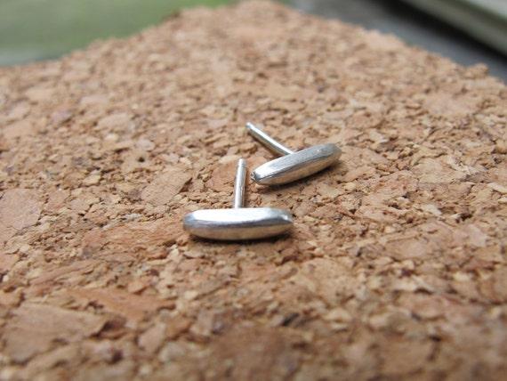 Sweet little sterling silver stud earrings